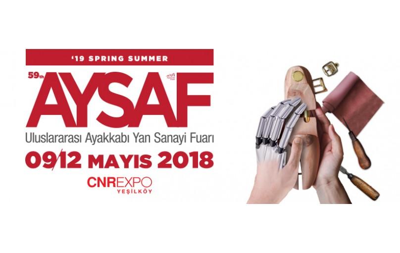 AYSAF Uluslararası Ayakkabı Yan Sanayi Fuarı 9- 12 Mayıs 2108