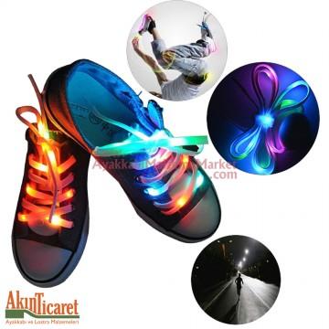 Işıklı Ayakkabı Bağcığı
