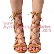 Yuvarlak Mumlu Ayakkabı Bağı Paket/72 Çift