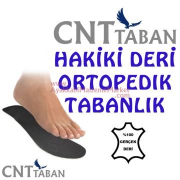 CNT Ortopedik Hakiki Deri Tabanlık (Dikişsiz)