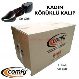Comfy Körüklü Ayakkabı Kalıbı - Bayan (50 Çift / Koli)
