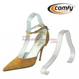 Sandalet Gergisi - Deve Boynu - Şeffaf - 12 Adet