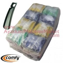 Plastik Ayakkabı Çekeceği - 14 Cm (2400 Adet / Torba)