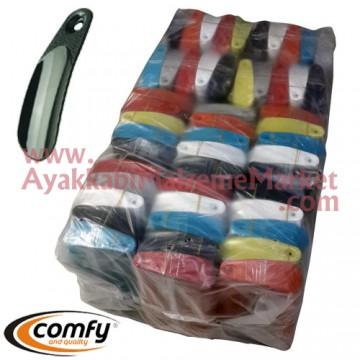 Plastik Ayakkabı Çekeceği - 12 Cm (3000 Adet / Torba)