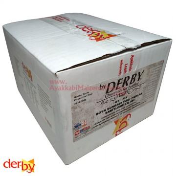 Derby BS Fix (Yarı Parlak) - Boya Sonrası Sabitleme Cilası - Renksiz 100 ml (12 Adet)