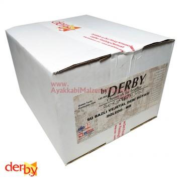 Derby Doledo WB Su Bazlı Vejital Deri Boyası 100 ml (12 Adet)