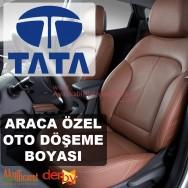 TATA Oto Deri Döşeme Boya Seti - Özel Renk - 1 Lt - 6 Parça (DERBY)