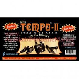 Tempo II Cilalı Parlatma Süngeri - Renksiz 1 Adet