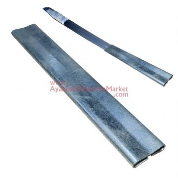 Pelteko No: 17 Kalfa Bıçağı İçin Metal Sap