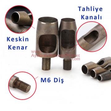 Padava - Yuvarlak Zımba Makine Kalıbı - 4 mm