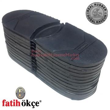 Fatih 147 Toplifts Ökçe Lastiği Siyah (1 Düzine)