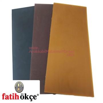 Fatih 9001 Tip İtal TPU Plaka 6 mm (31x13 Cm)
