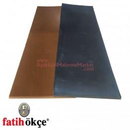 Fatih F1 Tip Plaka 5 mm - Siyah (30x10 Cm)