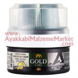 Gold Care Krem Boya Süngerli 200 ml (48 Adet / Koli)