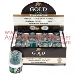 Gold Care Krem Boya Süngerli 50 ml 12 Adet