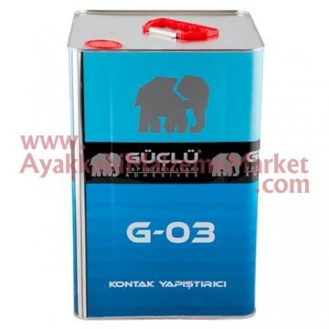 Güçlü G-03/5 Sarı Yapıştırıcı