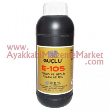 Güçlü E-105 Termo ve Kauçuk Taban Silme Suyu