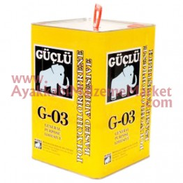 Güçlü G-03/19 Sarı Yapıştırıcı