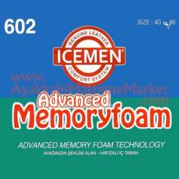 İcemen 602 Model Ortopedik Hafızalı Taban
