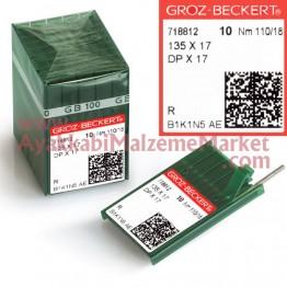 Groz-Beckert Kollu Makine İğnesi - DPx17 (10 Adet / Paket)