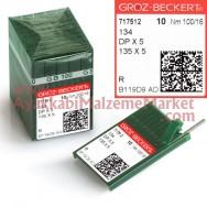 Groz-Beckert Saya İğnesi Kalın Dip - DPx5 (10 Adet / Paket)