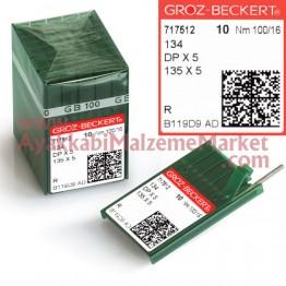 Groz-Beckert Saya İğnesi İnce Dip - TFx6 (10 Adet / Paket)