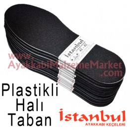 Istanbul Taban Plastikli Halı 12 Çift