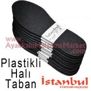 Istanbul Taban Taban Astarlı Halı 12 Çift