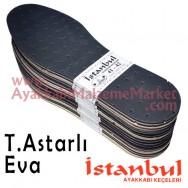 Istanbul Taban Astarlı Eva 12 Çift