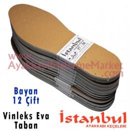 Istanbul Taban Vinleks Eva 12 Çift