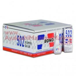 Evo Bond 502 Süper Yapıştırıcı 20gr 50 Adet  (Orjinal)