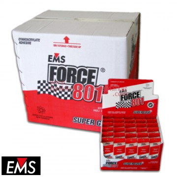 EMS FORCE 801 20 gr Hızlı Yapıştırıcı (360 Adet / 12 Kutu / Koli)