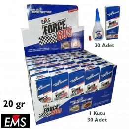 EMS FORCE 805 20 gr Hızlı Yapıştırıcı (30 Adet / Kutu)