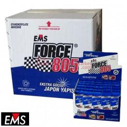 EMS FORCE 805 50 gr Hızlı Yapıştırıcı (240 Adet / 8 Kutu / Koli)