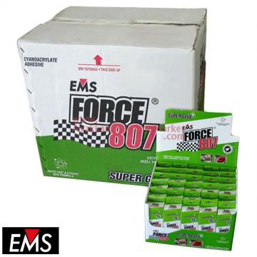 EMS FORCE 807 50 gr Hızlı Yapıştırıcı (240 Adet / 8 Kutu / Koli)