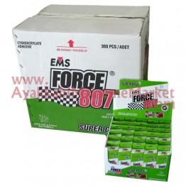 EMS FORCE 807 20 gr Hızlı Yapıştırıcı (360 Adet / 12 Kutu / Koli)