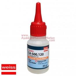 Weiss COSMO Elastik Yapıştırıcı 20 ml (180 Adet / 10 Kutu / Koli)