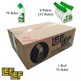 Leflef Likit Ayakkabı Boyası 75ml - Sport Beyaz - (72 Adet / Koli)