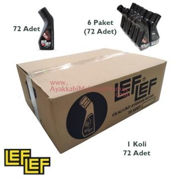 Leflef Likit Ayakkabı Boyası 75ml - (72 Adet / Koli)