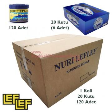 Nuri Leflef No:50 Klasik Ayakkabı Boyası 200 ml (120 Adet / Koli)