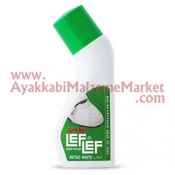 Leflef Likit Ayakkabı Boyası 75ml - Sport Beyaz
