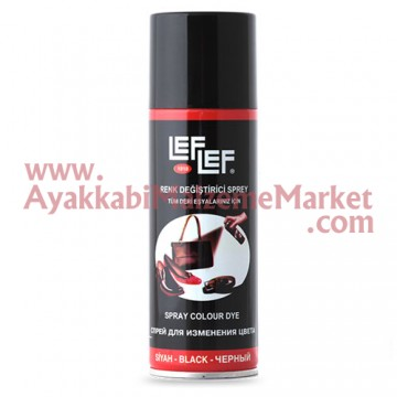 Leflef Renk Değiştirici Sprey 200ml - Siyah