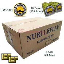 Nuri Leflef No:35 Ayakkabı Cilası 95ml (120 Adet / Koli)