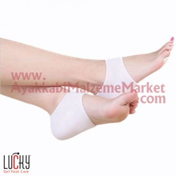 Lucky Silikon Topuk Çorabı