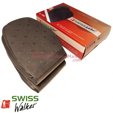 Swiss Walker İnce Pençe Lastiği - Kahverengi (10 Çift / Paket)