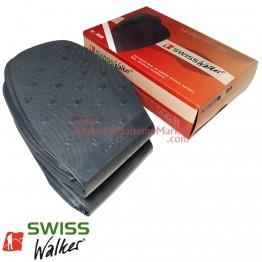 Swiss Walker İnce Pençe Lastiği - Siyah (10 Çift / Paket)