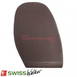 Swiss Walker Düz Pençe Lastiği - Kahverengi (1 Çift)