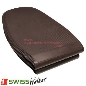 Swiss Walker Düz Pençe Lastiği - Kahverengi (10 Çift / Paket)