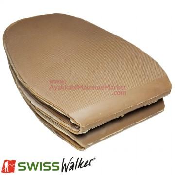 Swiss Walker Düz Pençe Lastiği - Sarı (10 Çift / Paket)