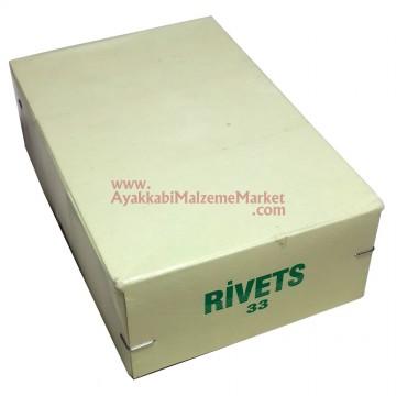 33 Rivet - Trop - 2000 Takım (Kutu)